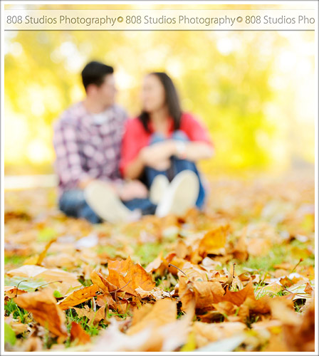 808 Studios Photography - Fall Engagement Session